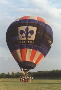 """SP-BZH """"Harcerz"""" - pierwszy balon HKB"""