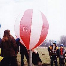 Model balonu - Błonia
